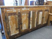 Reclaimed timber sideboard Was £899.00 now £499.00 to clear!