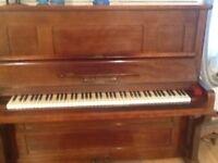 Upright piano - German overstrung