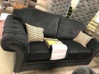 grey velvet suite