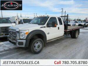 2012 Ford F-550 XLT 4X4 DSL 12 Flat Bed
