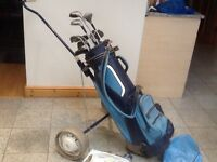 Golf sets -set o irons +drivers+putter+10balls+tees-several available-all used-from £20 to £35