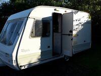 4 berth caravan £350 ono