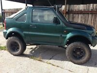Modified Suzuki jimny 4x4