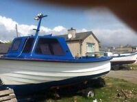 17ft sea ranger fishing and leisure boat