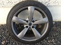17INCH 4/108 MASITALYS PEUGEOT CITREON ALLOY WHEELS WITH TYRES FIT MOST MODELS