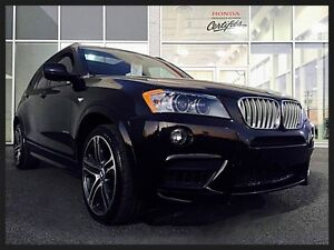 BMW X3 35i M-PACKAGE XDRIVE 2013 ~ TOIT PANORAMIQUE | CUIR | GPS