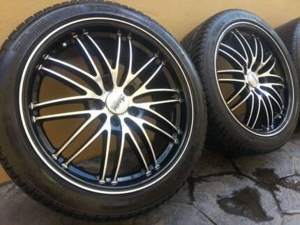 "18"" Advanti Racing Rims and Tyres Yangebup Cockburn Area Preview"