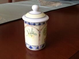 Royal Doulton Fine China Spice Jar