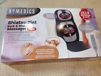 Homedics Shiatsu 2in1 Back & Shoulder Massager