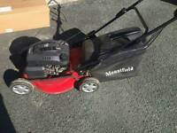 Mountfield petrol lawn mover