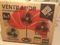 *BRAND NEW* 3 in one Industrial Fan for Sale