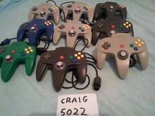 Nintendo 64 Controllers Rumble Transfer & Controller Paks Grange Charles Sturt Area Preview