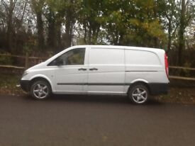 MERCEDES VITO LONG WHEEL BASE 109 CDI 2 FORMER KEEPERS 6 SPEED G/ BOX 2 SIDE DOORS AMG ALLOYWHEELS