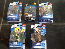 DISNEY INFINITY MARVEL GUARDIANS OF THE GALAXY FIGURES