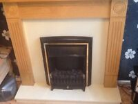 Fire&surround electric fire