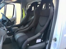 Bucket seats cobra carbon racing