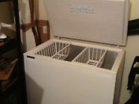 Norfrost Aura White chest freezer. Very clean. No longer required