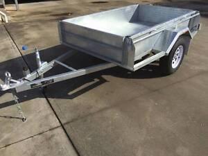 7x5 Heavy Duty Single Axle Galvanised Trailer Morphett Vale Area Preview