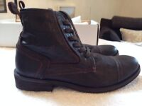 Mens Boots - Size 7 - Ask the Mrs (brand from Office) - Brand New and never worn. £25.00