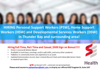 Personal Support Workers (PSW)