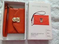 Genuine Michael Kors leather wallet /phone clutch - £20