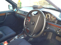 Mercedes 7 Seater W124 Estate MOT July Rare dog guard and load cover SH one of the last classics SE