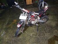 Pit bike 125cc M2R BIKE