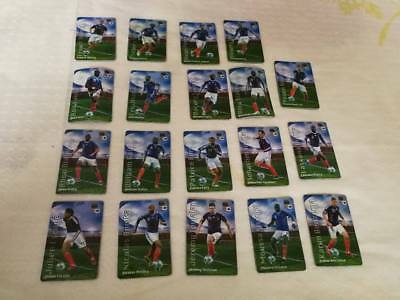 France Football Coupe du Monde 2010 19 Magnets différents FFF World Cup