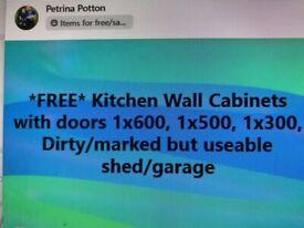 FREE Kitchen Wall Units