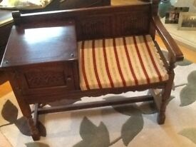 Old Charm telephone table, excellent condition
