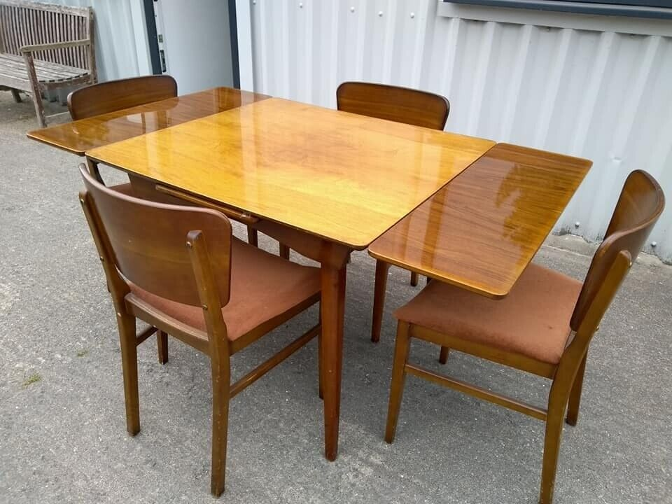 Vintage Table And Chairs Retro Dining Set In Bridgend Gumtree