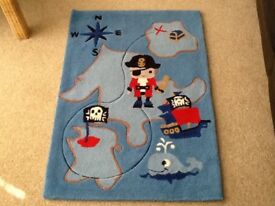 Next boys pirate rug