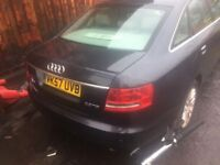 audi a6 2007 breaking all parts available