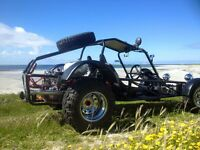 Vw beach buggy, sand rail swap