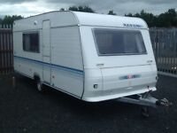 2005 adria altea 502dk fixed bunk beds 5 berth with awning