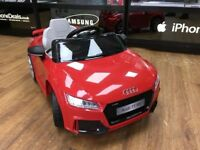AUDI TT SPORT KIDS RIDE ON ELECTRIC REMOTE CONTROL CAR AGES 3-5