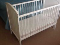 Mothercare cot+ mattress