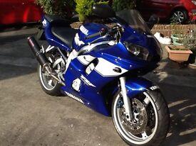 Yamaha Yzf600 R6