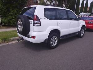 UP FOR SALE IS MY HEADTURNING RELIABLE 4X4 2005 LANDCRUISER PRADO Campsie Canterbury Area Preview