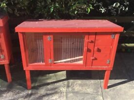 Very Solid Hand Made Rabbit Hutch.