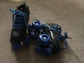 Boys rollerskates size 1