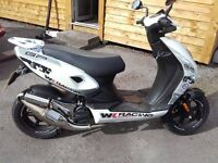 wk gp racing limited edition 50cc moped