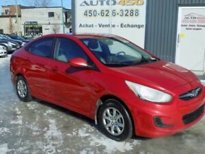 Hyundai Accent GL 2013*** CRUISE CONTROL,GROUPE ELECTRIQUE***