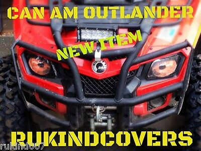 CAN AM OUTLANDER 800 650 500 HEADLIGHT RUKINDCOVERS Made in USA