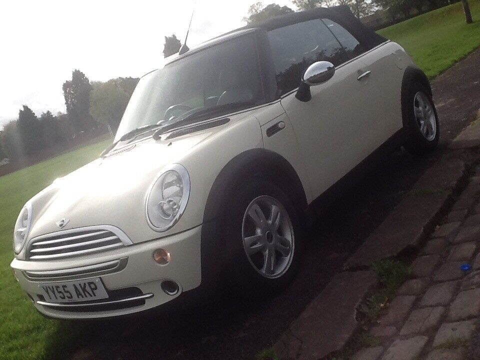 2006 MINI ONE 1.6 CABRIOLET CONVERTIBLE IN SHOWROOM CONDITION WITH LEATHER