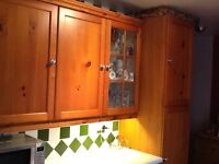 Kitchen in pine 11 units to be removed 26 th of January