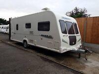 Bailey Pegasus 524 4 Berth caravan FIXED DOUBLE BED, AWNING, MOTOR MOVER BARGAIN