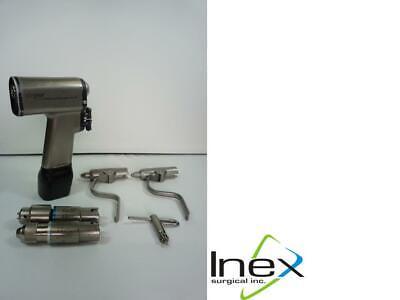 Stryker Cordless Driver 2 Handpiece 4200 Wattachments Battery 4112