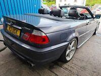 BMW, 3 SERIES, Convertible, 2003, Automatic, 2494 (cc), 2 doors