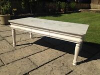 Beautiful Shabby Chic Coffee Table (4ft)